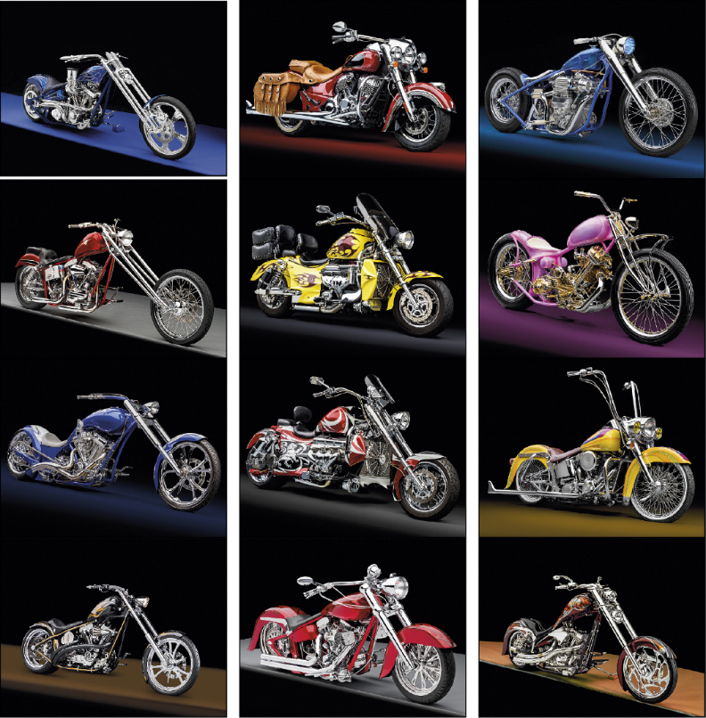 Custom Imprinted Calendar - Motorcycles #7256