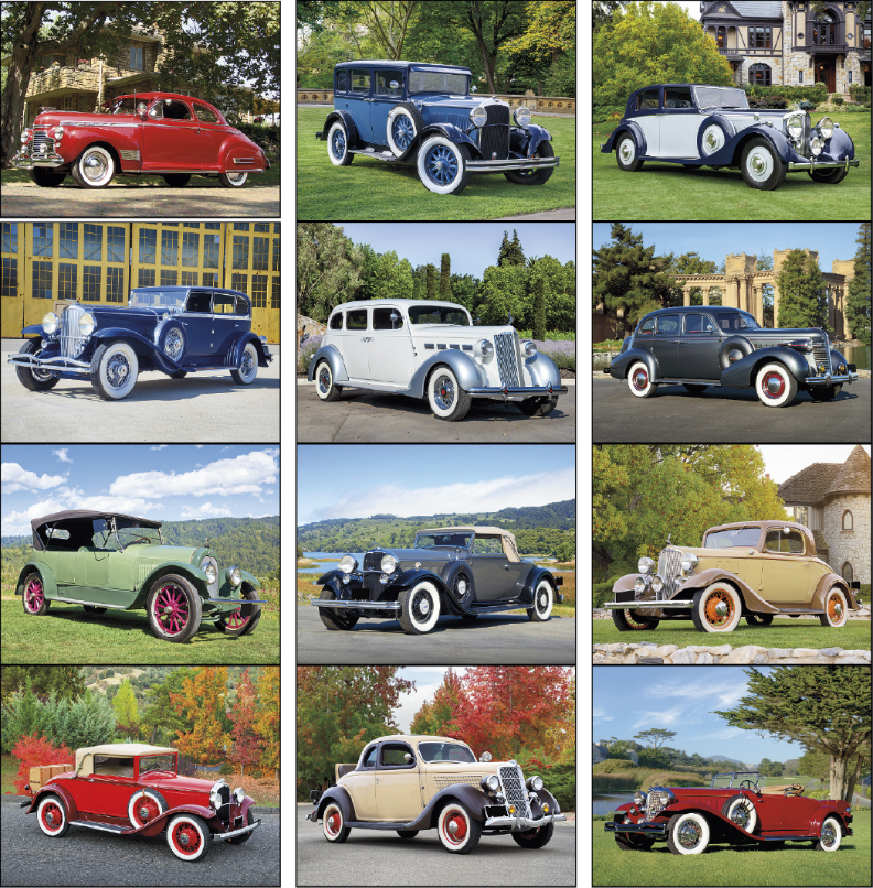 Custom Imprinted Calendar - Antique Autos #7257
